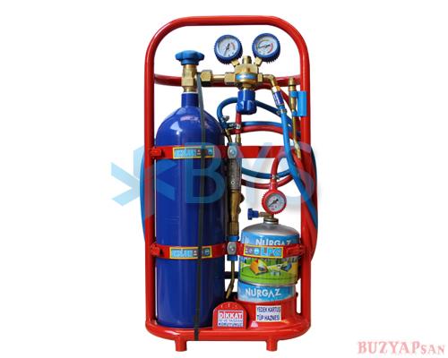 oksijen kaynak seti 6 lt lux